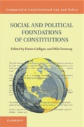 Cover of Social and Political Foundations of Constitutions