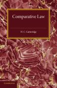 Cover of Comparative Law: An Introduction to the Comparative Method of Legal Study and Research