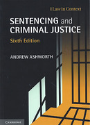 Cover of Sentencing and Criminal Justice
