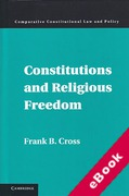 Cover of Constitutions and Religious Freedom  (eBook)