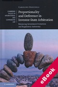 Cover of Proportionality and Deference in Investor-State Arbitration (eBook)