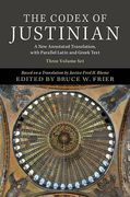 Cover of The Codex of Justinian 3 Volume Hardback Set: A New Annotated Translation, with Parallel Latin and Greek Text