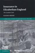 Cover of Insurance in Elizabethan England: The London Code