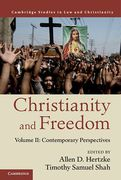 Cover of Christianity and Freedom: Volume 2: Contemporary Perspectives