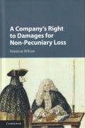 Cover of A Company's Right to Damages for Non-Pecuniary Loss