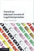 Cover of Toward an Informal Account of Legal Interpretation
