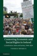 Cover of Contesting Economic and Social Rights in Ireland: Constitution, State and Society, 1848-2016