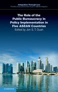 Cover of The Role of the Public Bureaucracy in Policy Implementation in Five ASEAN Countries