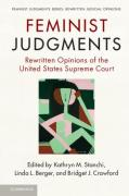 Cover of Feminist Judgments: Rewritten Opinions of the United States Supreme Court