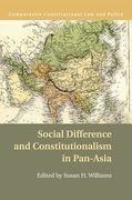 Cover of Social Difference and Constitutionalism in Pan-Asia