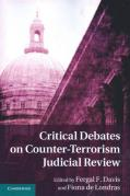 Cover of Critical Debates on Counter-Terrorism Judicial Review