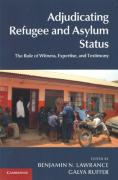 Cover of Adjudicating Refugee and Asylum Status: The Role of Witness, Expertise, and Testimony