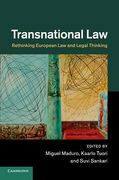 Cover of Transnational Law: Rethinking European Law and Legal Thinking