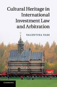 Cover of Cultural Heritage in International Investment Law and Arbitration