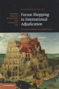 Cover of Forum Shopping in International Adjudication: The Role of Preliminary Objections