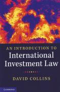 Cover of An Introduction to International Investment Law