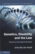 Cover of Genetics, Disability, and the Law: Towards an EU Legal Framework