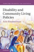 Cover of Disability and Community Living Policies