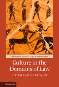 Cover of Culture in the Domains of Law