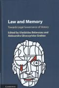 Cover of Law and Memory: Towards Legal Governance of History