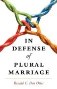 Cover of In Defense of Plural Marriage