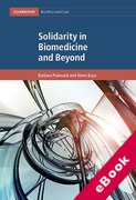 Cover of Solidarity in Biomedicine and Beyond (eBook)