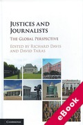 Cover of Justices and Journalists: The Global Perspective (eBook)