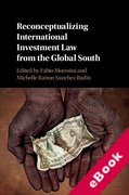 Cover of Reconceptualizing International Investment Law from the Global South (eBook)