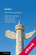 Cover of Justice: The China Experience (eBook)