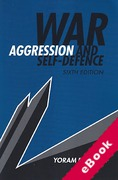 Cover of War, Aggression and Self-Defence (eBook)