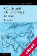 Cover of Courts and Democracies in Asia (eBook)