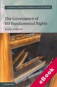 Cover of The Governance of EU Fundamental Rights (eBook)