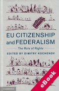 Cover of EU Citizenship and Federalism: The Role of Rights (eBook)