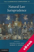 Cover of The Cambridge Companion to Natural Law Jurisprudence (eBook)