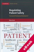 Cover of Regulating Patient Safety: The End of Professional Dominance? (eBook)