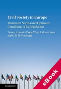 Cover of Civil Society in Europe: Minimum Norms and Optimum Conditions of its Regulation (eBook)