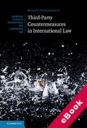 Cover of Third-Party Countermeasures in International Law (eBook)