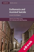 Cover of Euthanasia and Assisted Suicide: Lessons from Belgium (eBook)