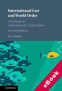 Cover of International Law and World Order: A Critique of Contemporary Approaches (eBook)