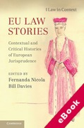 Cover of EU Law Stories: Contextual and Critical Histories of European Jurisprudence (eBook)