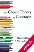 Cover of The Choice Theory of Contracts (eBook)