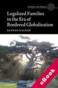 Cover of Legalized Families in the Era of Bordered Globalization (eBook)