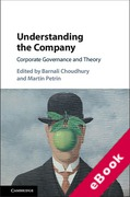 Cover of Understanding the Company: Corporate Governance and Theory (eBook)