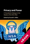 Cover of Privacy and Power: A Transatlantic Dialogue in the Shadow of the NSA-Affair (eBook)