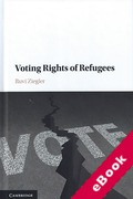 Cover of Voting Rights of Refugees (eBook)