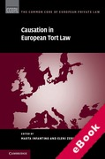 Cover of Causation in European Tort Law (eBook)