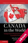 Cover of Canada in the World: Comparative Perspectives on the Canadian Constitution (eBook)