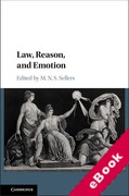 Cover of Law, Reason, and Emotion (eBook)