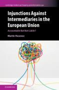 Cover of Injunctions Against Intermediaries in the European Union: Accountable but Not Liable?