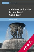 Cover of Solidarity and Justice in Health and Social Care (eBook)